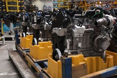 Automotive industry - engines Stock Image