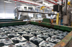 Automotive industry manufacture Stock Images