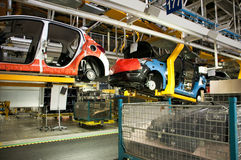 Automotive industry manufacture Stock Photography