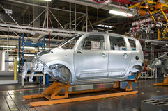 Automotive industry manufacture Royalty Free Stock Photo