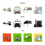 Automotive industry and other web icon in cartoon,black,flat style.New technologies icons in set collection. Automotive industry and other  icon in cartoon Stock Photo