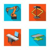 Automotive industry and other web icon in flat style.New technologies icons in set collection. Royalty Free Stock Photos