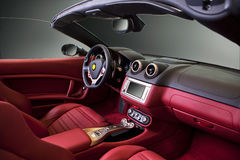 Automotive interior Royalty Free Stock Images