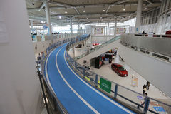 Automotive manufacturer at Toyota Motor Corporation Stock Photos