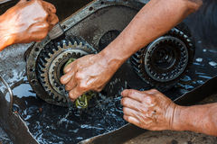 Automotive mechanic Stock Photography