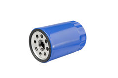 Automotive Oil Filter. Automotive or small truck oil filter. Clipping path on object Royalty Free Stock Photography