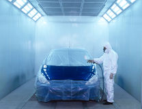 Automotive Paint Series Stock Photo