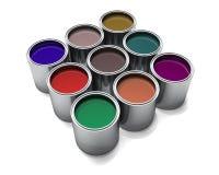 Automotive Paints Stock Photos