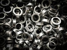 Automotive part. After pressing process stock image