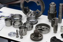 Free Automotive Part Production By Hot Forging And Machining Process Royalty Free Stock Photos - 160956918