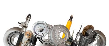 Automotive parts Stock Photography