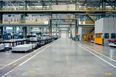 Automotive sheet metal processing plant Stock Photo