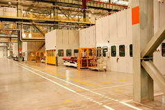 Automotive sheet metal processing plant Stock Photography