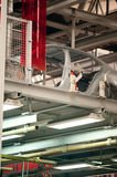 Automotive sheet metal production line Royalty Free Stock Image