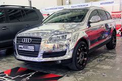 Automotive-show, AUDI Q5 Royalty Free Stock Image