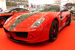Automotive-show. Ferrari Royalty Free Stock Image