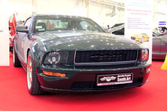 Automotive-show, Ford Mustang Stock Photo