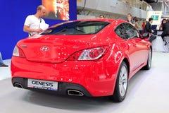 Automotive-show, Hyundai Genesis  Stock Photos