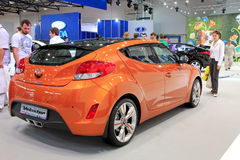 Automotive-show, Hyundai Veloster Royalty Free Stock Images