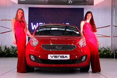 Automotive-show. KIA Venga Stock Photos