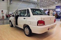 Automotive-show, Saipa 132 Royalty Free Stock Images