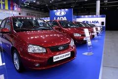 Automotive-show. VAZ Lada 1119 Sport   Royalty Free Stock Photo
