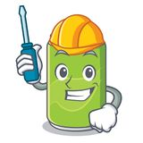 Automotive soft drink character cartoon Royalty Free Stock Photography