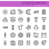 Automotive Spare Part Elements Royalty Free Stock Image