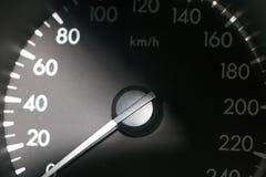 Automotive speedometer Stock Images