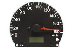 Automotive speedometer Stock Photography