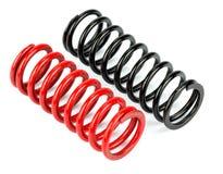 Automotive suspension springs! Stock Photo
