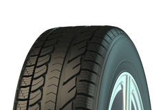 Automotive tire Stock Photography