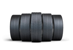 Automotive tires Royalty Free Stock Photography