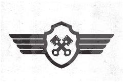 Automotive Wing  Logo. Royalty Free Stock Photos