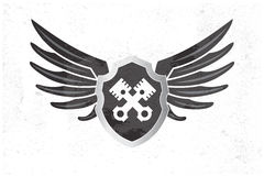 Automotive Wing  Logo. Royalty Free Stock Images
