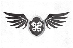 Automotive Wing  Logo. Stock Images