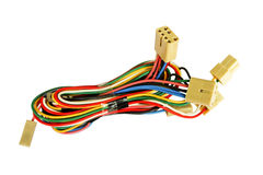 Automotive wiring Royalty Free Stock Photos