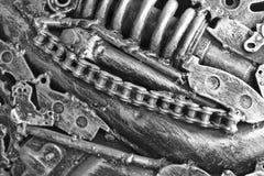 Automotormaschinenteil Schließen Sie herauf Schuss stockbilder