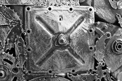 Automotormaschinenteil Schließen Sie herauf Schuss stockfotografie