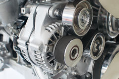 Automotornahaufnahme Lizenzfreie Stockfotografie