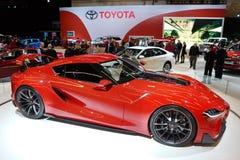 Automóvil del concepto de Toyota Imagen de archivo libre de regalías