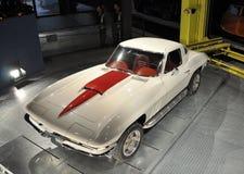 Automóvil descubierto de la vendimia Foto de archivo libre de regalías