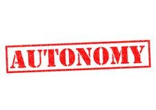 autonomía stock de ilustración