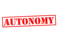 autonomie illustration stock