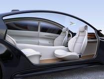Autonomous car interior concept Stock Image