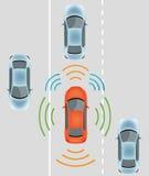 Autonomous Driverless Car Stock Photos
