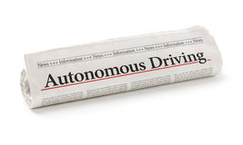 Autonomous Driving Royalty Free Stock Images