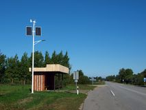 Autonomous street light Royalty Free Stock Photography
