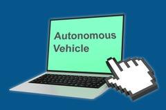 Autonomous Vehicle concept Stock Photos