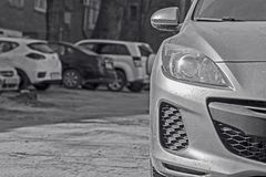 Autoparking royalty free stock photos